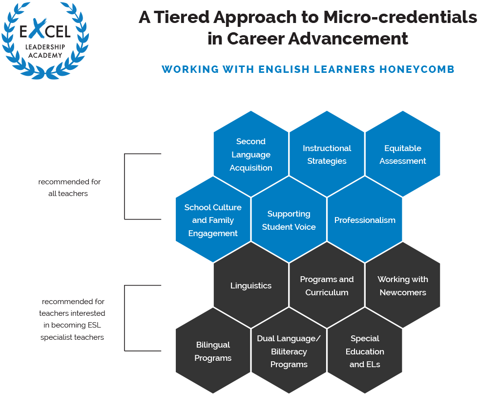 exCEL micro-credential chart